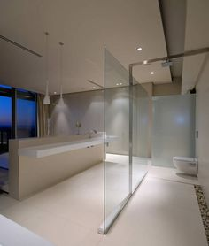 Baños modernos. By Stefan Antoni