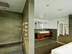 Photo of Gray Asian Bathroom project  by Todd Brickman Designs