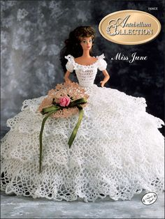Crochet - Doll Patterns - Bed Doll Patterns - The Antebellum Collection Miss June 1991