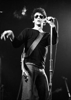 Lou Reed Poster Archival Quality Print