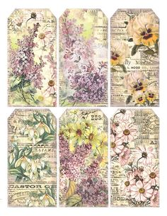 Lilac & Lavender: Springtime Gift Tags
