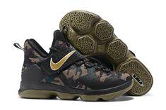 80135b4744d Nike LeBron 14 Camo Mens Basketball Shoes On Sale Copuon
