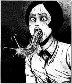 "De ""Uzukumi"", manga de Junji Ito"