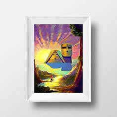 We Are Our Mountains, Karabakh Art, Armenia Art, Armenian Artwork, Wall Art, Art Prints, Grandma Grandpa, Children Art, Digital Art