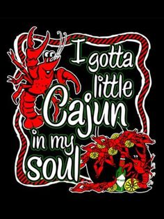 I DEFINITELY have a little Cajun in my soul. New Orleans is one of my favorite places. Spirited, soulful town. AND my favorite colors are green, purple, & gold - Mardi Gras!