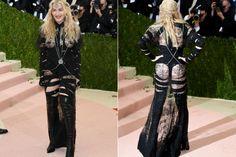 Do excêntrico ao glamouroso: os looks das famosas no baile de gala do MET - Madonna