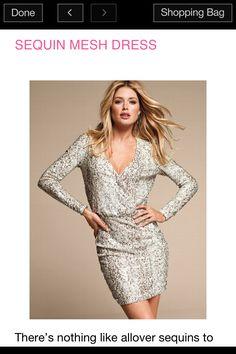 Victoria's Secret Sparkle Dress