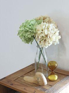 いなざうるす フェイクグリーン アジサイ ドライフラワー ブーケ。【いなざうるす屋】フェイクグリーン 紫陽花 あじさい【いなざうるす ドライフラワー グリーン 緑 アジサイ ブーケ フェイク ガーランド アンティーク アーティフィシャルグリーン ミニ 造花 観葉植物 おしゃれ かわいい 北欧 雑貨 ブルックリン 塩系】