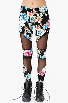 Tainted Rose Leggings