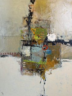 "Bennett Galleries Nashville - John Hyche, ""Alluring""  -  mixed media on canvas, 30"" x 40"""