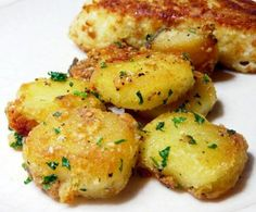 Parmesan Peynir Ve Sarımsaklı Patates