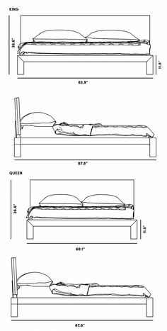 Dimensions for Xander Bed Sheet Music