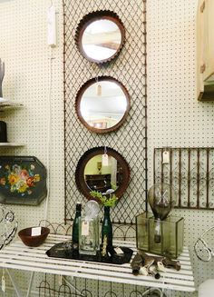 Repurposed {Decorative Mirrors}