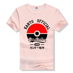 Casual Pokemon Kanto Official T Shirt
