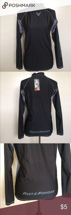 Mens rash guard Brand new mens rash guard tag is XXL but it only fits medium fast & furious Swim Rash Guards