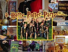 Harry Potter Party from Frosted Events