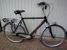 www.fietsservice-ewald.nl - Gazelle Orange Herenfiets.