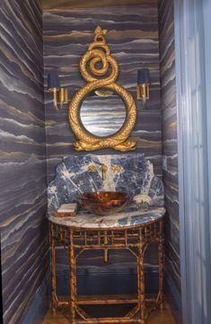 powder bathroom rooms wallpapers bathrooms interior bath decorating mirror vanity difilab g8