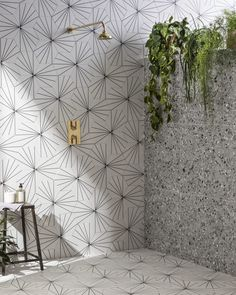 Originating in Italy over 500 years ago, Terrazzo has made a major comeback and is now one of the hottest porcelain tile trends. This terrazzo porcelain tile perfectly replicates marble chippings set Ideal Home Show, Mandarin Stone, Terrazzo Tile, Flooring Tiles, Cement Tiles, Wall And Floor Tiles, Ceramic Wall Tiles, Porcelain Tiles, Tile Wood