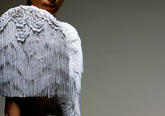 salvacion lim higgins haute Filipiniana, Philippines, Slim, Costumes, Lace, How To Wear, Beautiful, Tops, Women