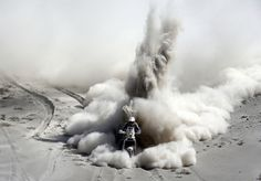 South Africa's Riaan Van Niekerk rides his KTM during the 5th stage of the Dakar Rally from Arequipa in Peru to Arica in Chile, on Jan. 9. (Jacky Naegelen/Reuters) # Dakar Rally 2013 - The Big Picture - Boston.com