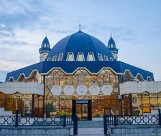 Central mosque in Nalchik, Republic of Kabarda Balkaria, Russia