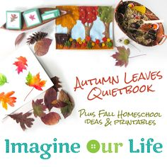 Autumn Leaves Quiet Book & Fall Homeschool Unit