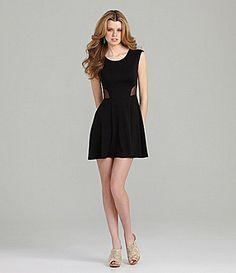 GB Mesh Swing Dress #Dillards