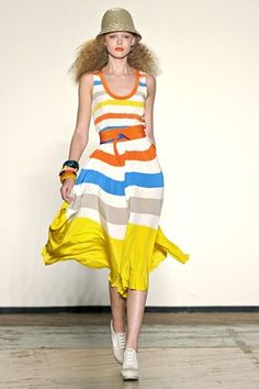 Striped dress from Marc by Marc Jacobs