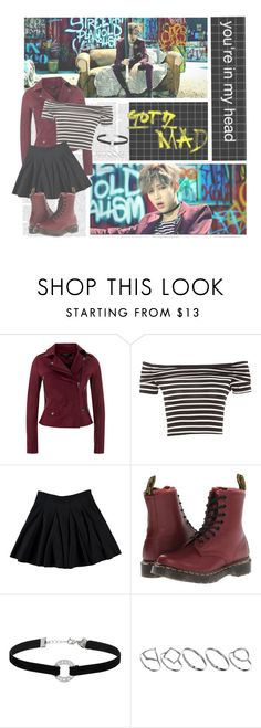 """If You Do--- Got7"" by alicejean123 ❤ liked on Polyvore featuring Bambam, MuuBaa, Dr. Martens, Miss Selfridge and ASOS"