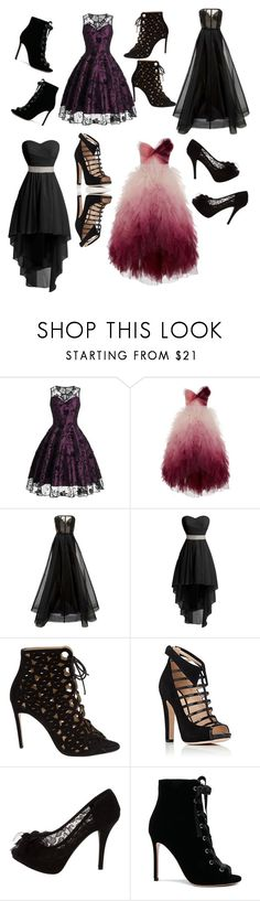 """""""Coven Ball"""" by lilynnguyen on Polyvore featuring Marchesa, Alex Perry, Bionda Castana, Chloe Gosselin, Dolce&Gabbana and Gianvito Rossi"""