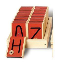 Uppercase Motor Letters Fine Motor Teaching Toy