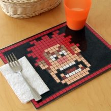 Wreck-It Ralph crafts including this placemat, printable paper crafts, a coloring sheet, pencil toppers and more.