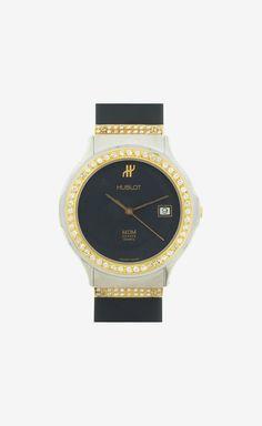 Hublot 18 K Yellow Gold With D Iamonds Watch
