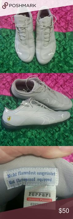 Puma ferrari shoes ( mens) Used, worn 1 time only, like brand new condition, ferrari edition, size 11.3, thanks for looking Puma Shoes Sneakers