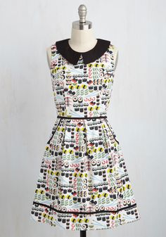 All Eyes on Unique Dress in Sushi