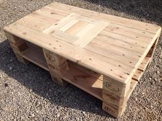Euro Pallet Coffee Table   99 Pallets