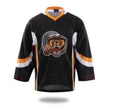 Sublimated Tiger Ice Hockey Jersey