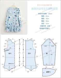 trendy Ideas sewing for kids dress how to make Baby Dress Patterns, Kids Patterns, Sewing Patterns Free, Clothing Patterns, Sewing For Kids, Baby Sewing, Sewing Art, Fashion Sewing, Kids Fashion