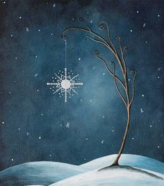 Kai Fine Art is an art website, shows painting and illustration works all over the world. Norman Rockwell Paintings, Original Paintings, Original Art, Sell My Art, Christmas Paintings, Winter Art, Stars And Moon, Sun Moon, Fairy Art