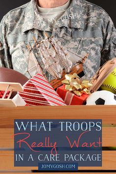 This is exactly what troops really want in a care package. Don't overload every care pack with novelty items because most of the time we will throw it away. Military Deployment, Military Girlfriend, Army Mom, Military Gifts, Army Life, Military Spouse, Military Army, Deployment Gifts, Military Care Package Ideas For Boyfriend