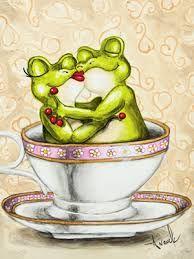 schönes, froschiges Wochenende .. quak, quak, quak...