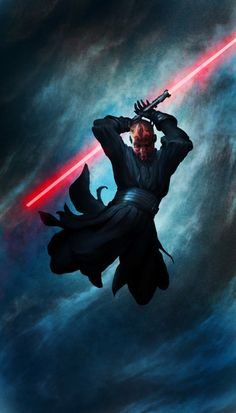 Star Wars - Darth Maul by Torstein Nordstrand