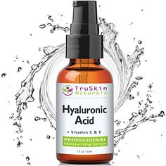 The BEST Hyaluronic Acid Serum for Skin & Face with Vitamin C, E, Organic Jojoba Oil, Natural Aloe and MSM | Potent Spa-Quality Anti-Aging Facial Skincare Serum Boosts Collagen and Deeply Hydrates & Plumps Skin to Fill-in Fine Lines & Wrinkles for Smoother, Vibrant, Healthier, Younger-Looking Skin That Glows 1-oz TruSkin Naturals http://www.amazon.com/dp/B00K32VXTW/ref=cm_sw_r_pi_dp_xCyVvb1CXW91D