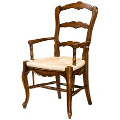 Theodore Alexander, Essential TA French Farmstead Dining Chair, French…