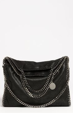 Stella McCartney Stella McCartney 'Falabella' Shaggy Deer Foldover Tote available at #Nordstrom