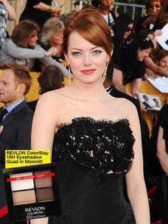 Get Emma Stone's Classic & Chic SAG Awards Makeup