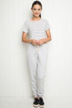 Brandy ♥ Melville   Rosa Sweatpants