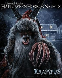 KRAMPUS Maze Coming to Halloween Horror Nights 2016 For Universal Studios Hollywood Orlando Resort