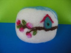 felted soap- such a great gift idea